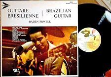 BADEN POWELL LP - GUITARE BRESILIENNE - BARCLAY 40012, 1968 BOSSA NOVA