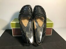 Naturalizer Cyrus Black Leather Shoes Size 7.5 Medium Brand New