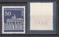 Berlin 1966 Mi. Nr. 289 R Postfrisch Rollmarke mit Nr. TOP!!! (20613)