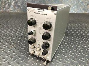 Ortec 450 Research Amplifer NIM BIN Module