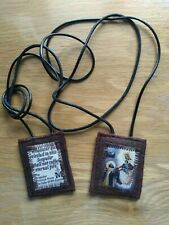 More details for scapular brown /hard wearing /woollen / made by melody