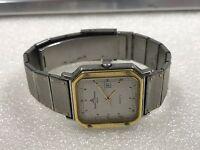 RARE VINTAGE BAUME & MERCIER Geneve Date 18K Gold/S. Steel Ladies Watch 4226.038