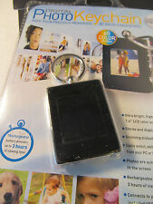 Digital Photo Keychain holds 60 color photos new in original package - v. useful