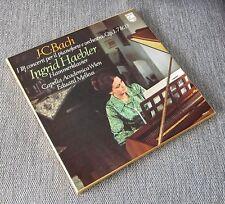 JC BACH 18 Piano Concertos Haebler Melkus Philips 5 LP Box Unplayed Promo Set