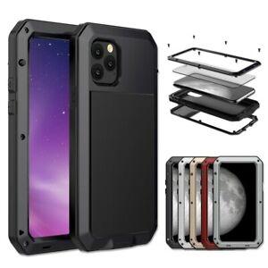 METAL ALUMINIUM GORILLA SHOCK CASE COVER FOR iPhone 12 Pro Max 11 Pro 6 7 8 Plus
