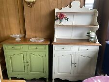 More details for antique french dresser and cupboard