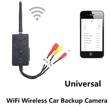 Waterproof WiFi Car SUV Backup Camera Video Rearview Transmitter iPhone Android