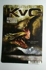 Kvc Komodo Vs Cobra Kunst Mini Poster Backer Karte (Not A Film)