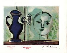 PABLO PICASSO - Litografia color 1947, Firmada a mano. Sello Galeria Beyeler