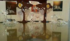 """Swarovski crystal """"Inspiration Africa""""1993-1995, Kudo, Lion, Elephant and Trees"""