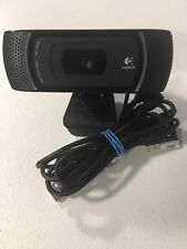 Logitech HD Pro Webcam C910 1080p USB Carl Zeiss Tessar V-U0017 PC Video Cam