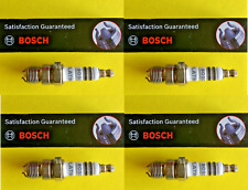 New SET OF 4 BOSCH Platinum+2 Spark Plugs - Made in Germany