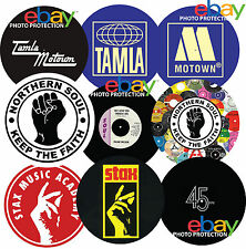 "Northern Soul Tamla Motown Stax 12"" or 7"" DJ SLIPMAT turntable platter mat ."