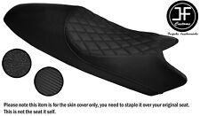 DSG4 BLACK ST CARBON GRIP VINYL CUSTOM FOR DUCATI MONSTER 93-07 SEAT COVER