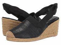 Lauren Ralph Lauren Women's Helma Espadrille Slingback Wedge Sandal Size 9.5