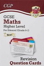 Maths Edexcel CGP Question Cards GCSE 9-1 Revision Exam Study Guide Notes