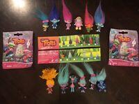 Dreamworks Trolls Series 6 Blind Bag Mini Figures COMPLETE LOT OF 12 Free ship!