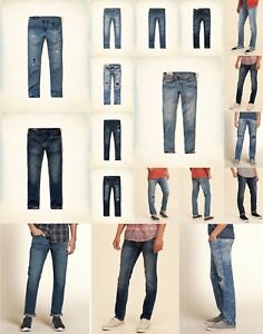 NWT HOLLISTER by ABERCROMBIE MEN SKINNY  JEANS ALL SIZE
