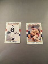2 Hall of Fame USA Cards Dan Gable & Frank Wykoff