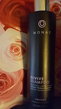 New Sealed Monat REVIVE Volume Shampoo infused w Rejuvenique Oil  Hair Monet