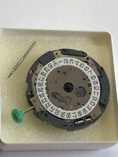 Miyota OS10 Date - 3 NEU Movement Werk Uhr incl. Batterie