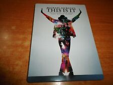MICHAEL JACKSON'S This is it DOBLE DVD EN CAJA METALICA DEL AÑO 2009 2 DVD