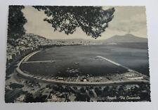 Vintage post card Postcard - Naples Via Caracciola, Italy 1950's