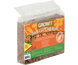 GROWIT Grow!t Coco Coir Mix Brick, 3-Pk. Organic Growing Medium *FREE SHIPPING*