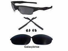Galaxy Lenti di Ricambio + GOMMA Kit per Oakley Half Jacket 2.0 Nero