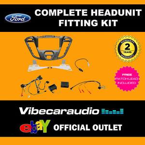 CTKFD41 Ford Transit Custom 2012 > Car Double Din Stereo Fascia Fitting Kit