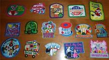 Boy Girl LOT of 16 FUN PATCHES Badges Scouts Books Kite Fun First Aid Fire Tour