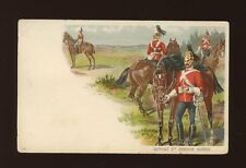 Military 2nd DRAGOON GUARDS Outpost Unused c1902 u/b PPC