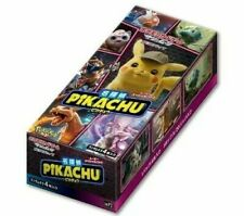 DETECTIVE PIKACHU Booster Box Japanese Pokemon Card SMP2 Sealed US Seller NEW