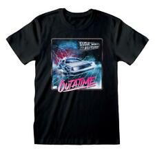 New listing Back To The Future Unisex Adult Outa Time T-Shirt (HE466)