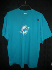 "2014 MIAMI DOLPHINS ""AQUA OUT"" AUTHENTIC T- SHIRT VS CHIEFS *BRAND NEW SALE* WOW"