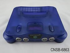 Nintendo 64 Japanese Import Midnight Blue System N64 Console Japan JP US Seller
