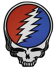 Grateful Dead Steal Your Face Embroidered Back Patch G057P