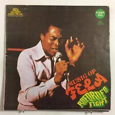 """""""COVER ONLY"""" ORIGINAL FELA KUTI AFRIKA 70 ROFOROFO FIGHT AFROBEAT ANIKULAPO VG"""