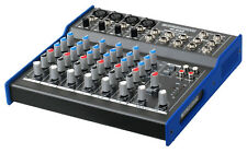 MIXER DJ DISCO AUDIO PASSIVO CONSOLLE 8 CANALI 3 BAND EQ PHANTOM 48V LED TRIM