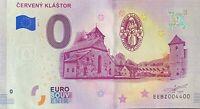 BILLET 0  EURO CERVENY KLASTOR  SLOVAQUIE 2019   NUMERO 4400