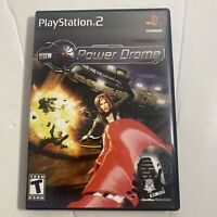 Power drome (Sony PlayStation 2 PS2, 2004) COMPLETE Video Game Free Shipping