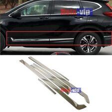 For Honda CR-V CRV 2017 2018 Chrome Door Side Line Body Molding Cover Trim Guard