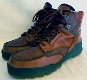"ECCO ""Track 25"" gore-tex lined men's high hiking boots, retail $250, sz. 11M"