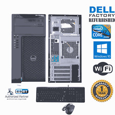 Dell Precision T1650 Computer i7 3770  3.40ghz 16gb 500GB Windows 10 PRO 64 Wifi
