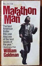 Marathon Man, by William Goldman, Vintage paperback, 1974