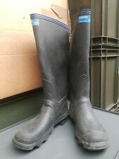 Vintage Century BLUE Uniroyal Wellingtons Wellies Rubber Boots UK6 (BTR Bullseye