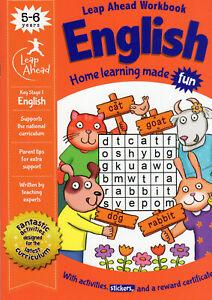 English Book Leapahead Workbook Educational Activity Age 5+