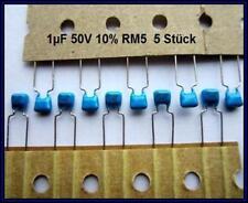 Ceramic Capacitor Ceramic Capacitor 1µf 1uf 50v 10% rm5 5 Piece