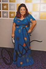 EMMERDALE/STRICTLY COME DANCING: LISA RILEY SIGNED 6x4 PORTRAIT PHOTO+COA