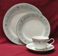 NORITAKE China - MONTELEONE # 7569 Pattern - Dinner & Salad Plates, Cup/Saucer